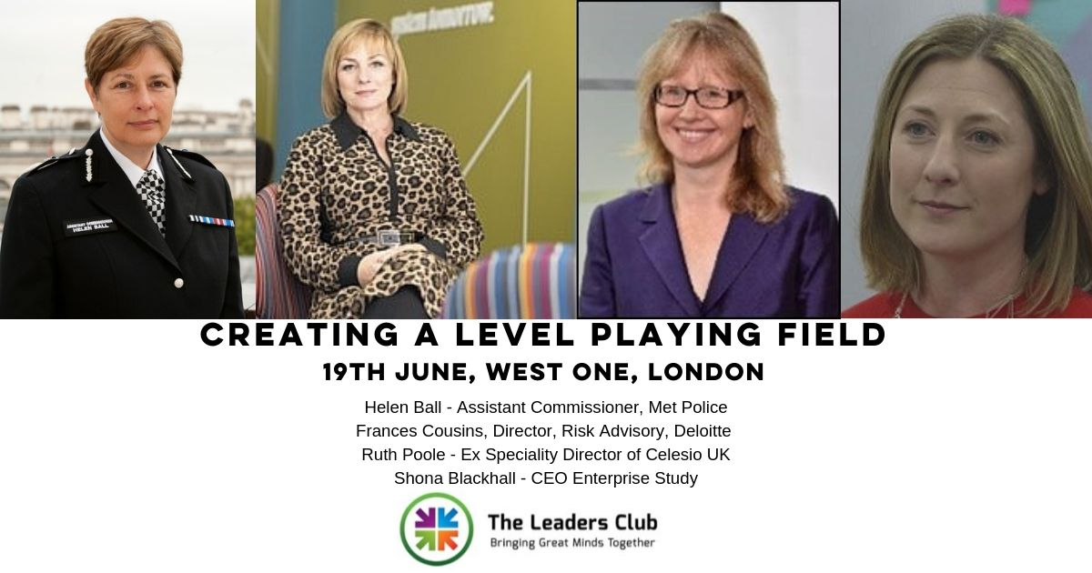 How Level is the playing field? The Leaders Club, London, June